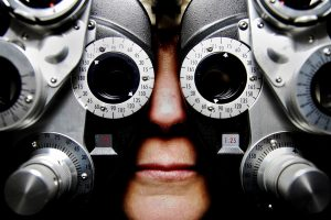 vision test for occupational health screening program